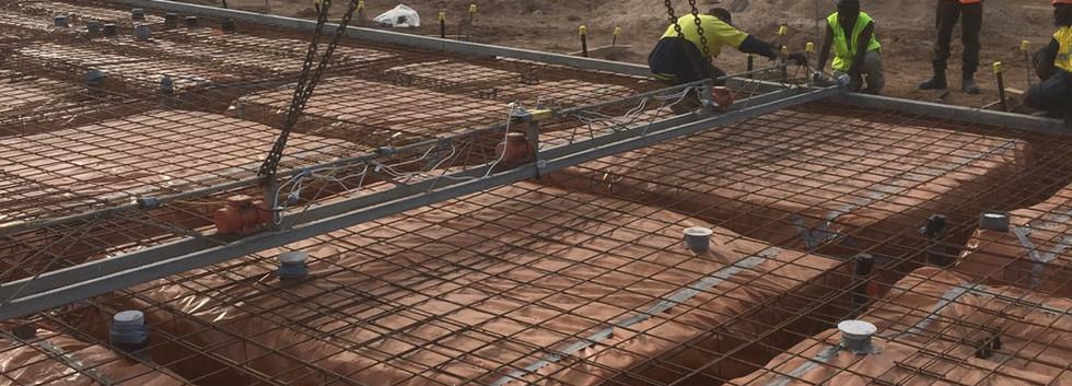 Concrete Slab Preperation