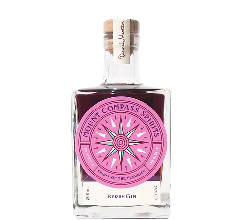 Mount Compass Berry Gin 500ml 44% Abv