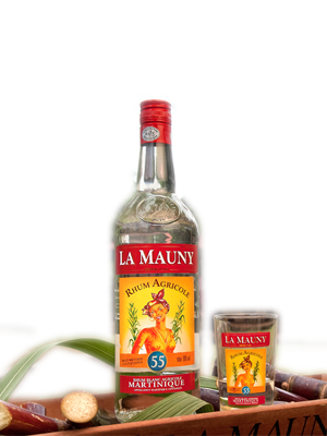 La Mauny 55° White 1000ml 55%