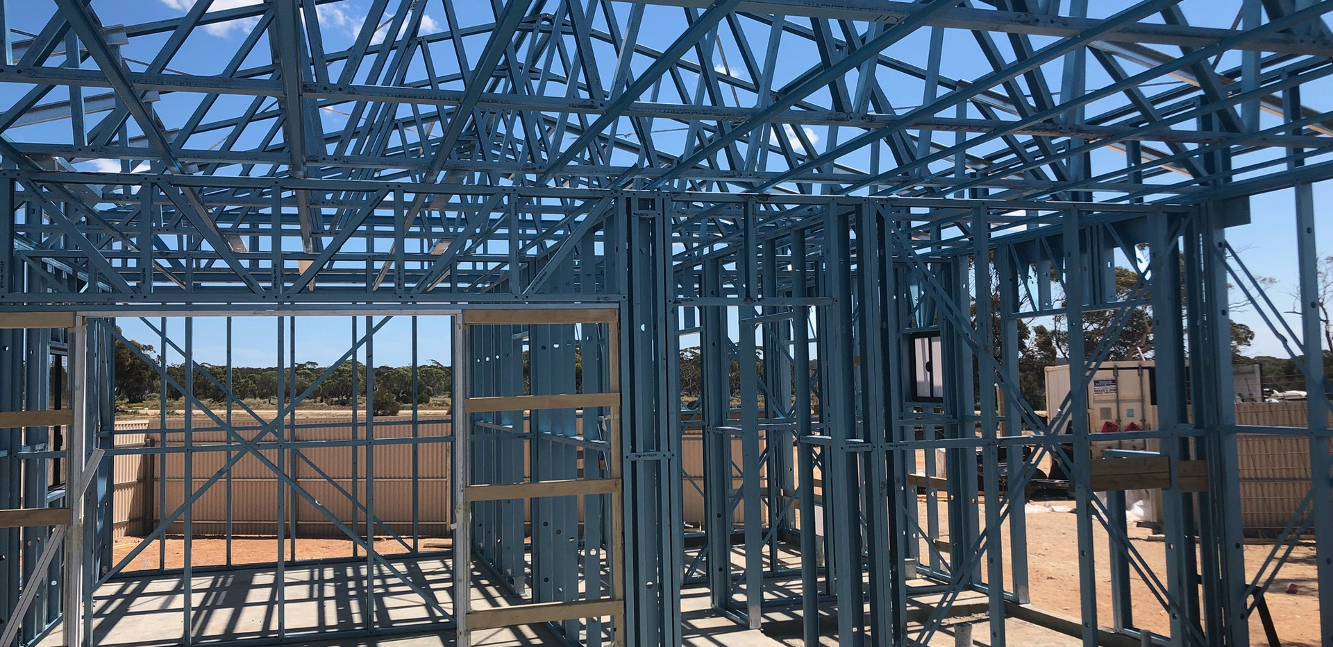 House Steel Framing