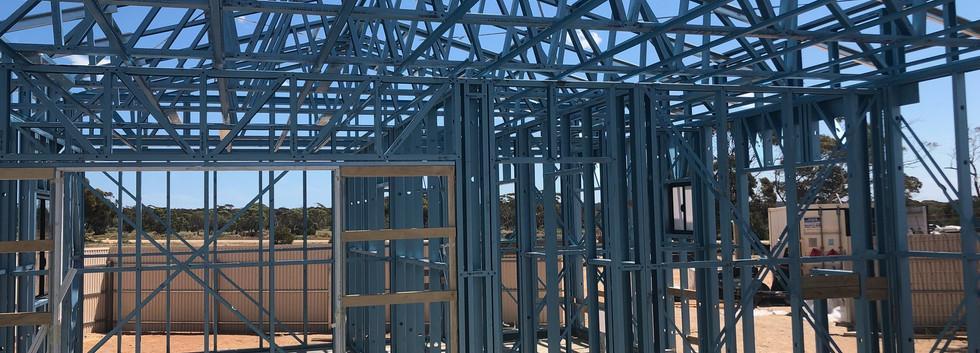 House Steel Framing
