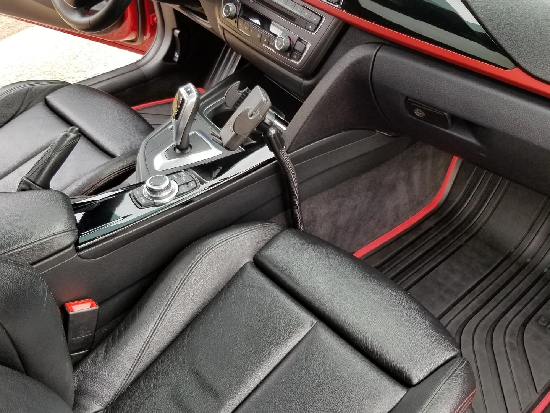 Alpina BMW M3 interior detail