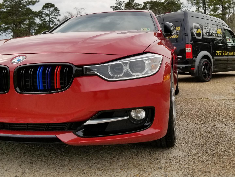 Alpina BMW M3 detail