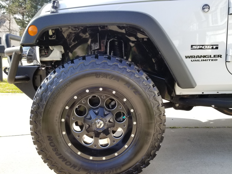 Jeep Wrangler JK detail