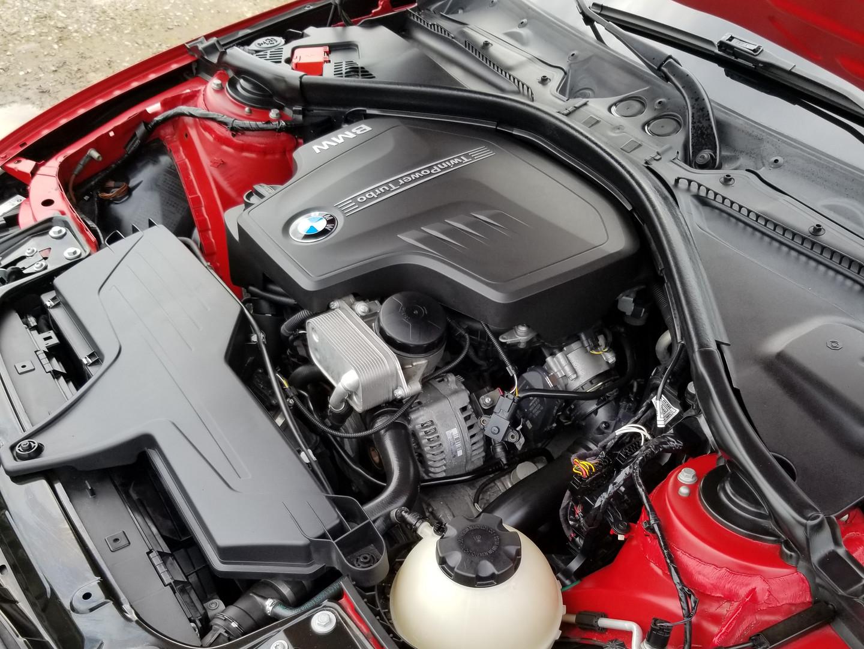 Alpina BMW M3 engine detail