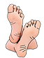 big-toe-png-cartoon-bare-feet-clipart-20