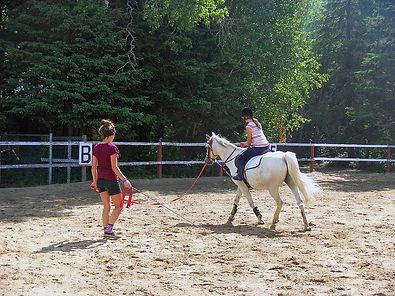 cours d'équitation Camp clarac