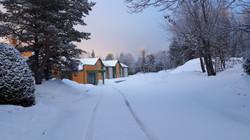 L'annexe en hiver
