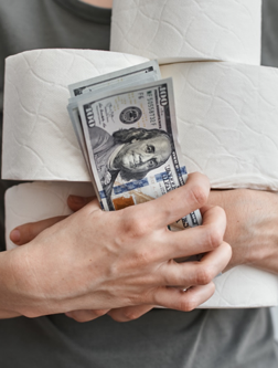 What The Toilet Paper Hoarders Can Teach Us About Money