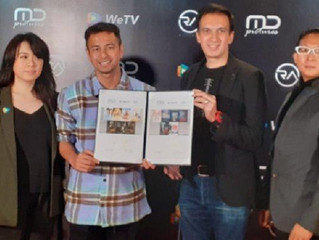 Hadirkan Konten Lokal Berkualitas, WeTV Indonesia Kolaborasi dengan MD Pictures dan RA Pictures
