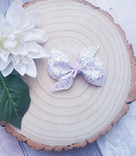 Cupcake tie knot scrunchie bow