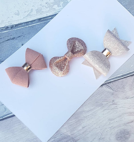 Luxe rose gold (available individually or as a set)