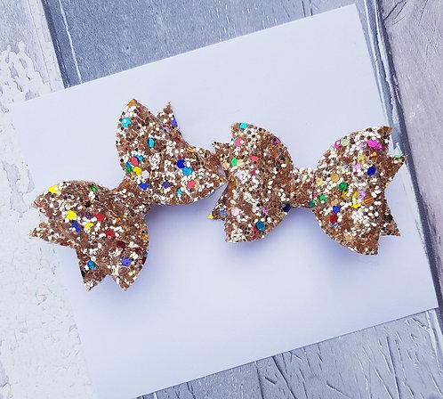 Glitterati pigtail set