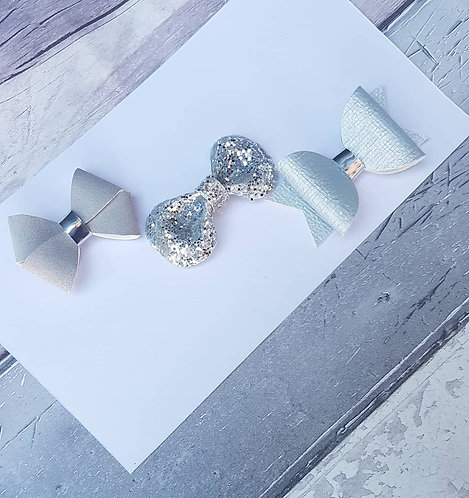 Luxe silver (available individually or as a set)