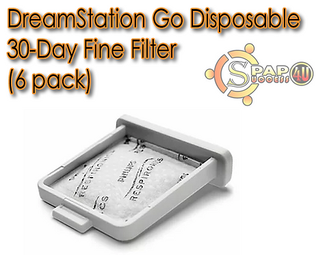 DreamStation Go Disposable 30-Day Fine Filter (6 pack)
