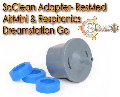 SoClean Adapter- ResMed AirMini & Respironics Dreamstation Go