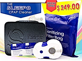 Sleep8 CPAP Cleaner and Sanitizing, Mask