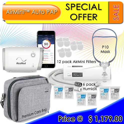 ResMed AirMini AutoSet P10 Promo Package