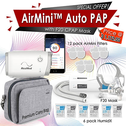 ResMed AirMini AutoSet F20 Promo Package