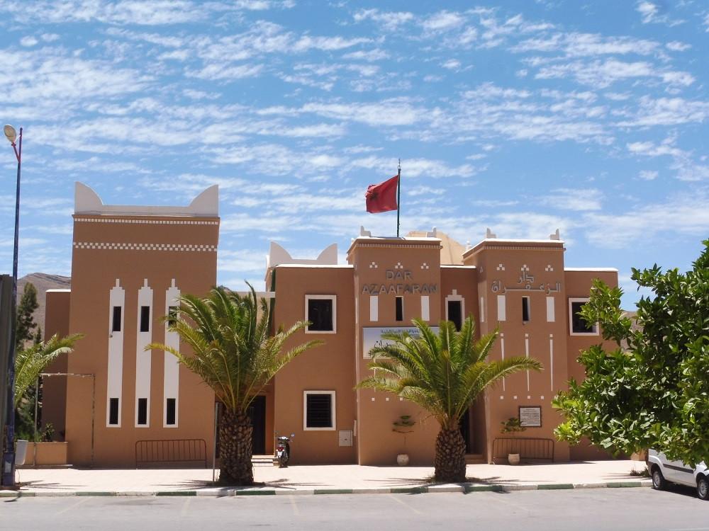Dar Azaafarane, het Huis van de Saffraan, Taliouine, Marokko - Saffraan Reizen