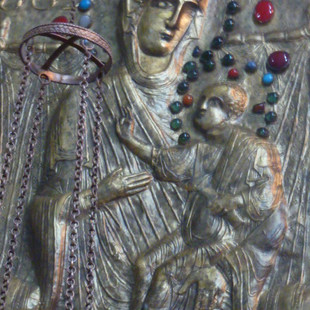 Mtskheta Moeder Gods ikoon rondreis Georgie Saffraan Reizen.JPG