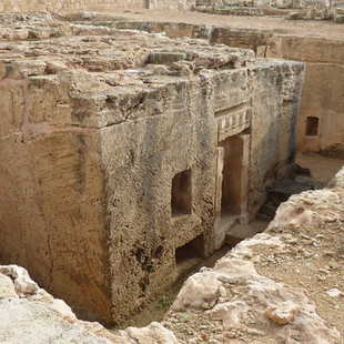 Paphos opgraving koningsgraven.JPG