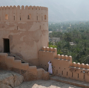 Nakhal fort, rondreis Oman.JPG
