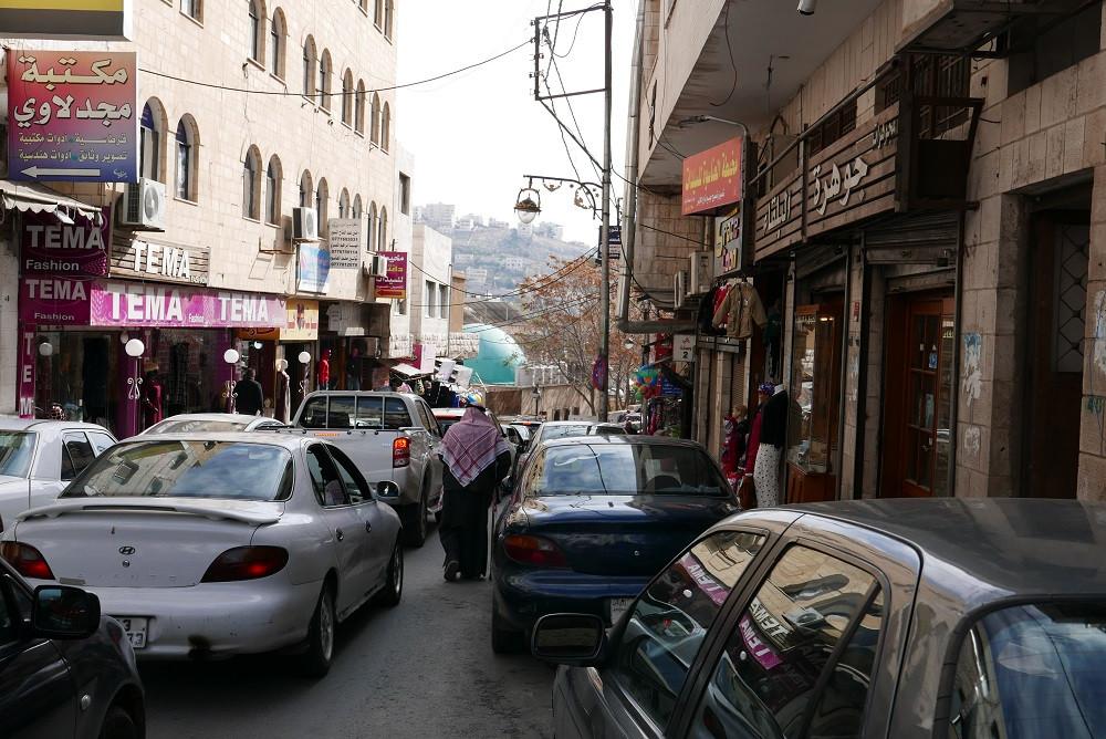 Hoofdstraat van Salt, Jordanië - Saffraan Reizen