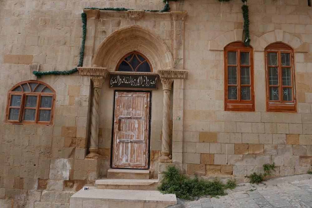 Huis met kolommen in Salt, Jordanië - Saffraan Reizen