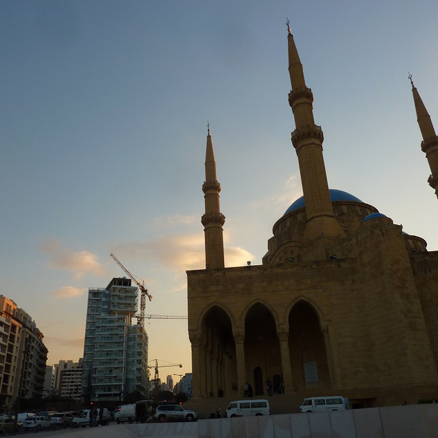 Mohammed al Amin Moskee, Beirut.JPG