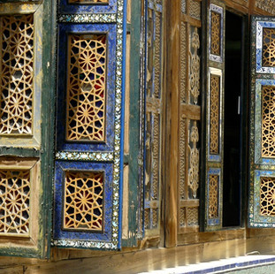 Interieur restaurant Isfahan, Iran.JPG