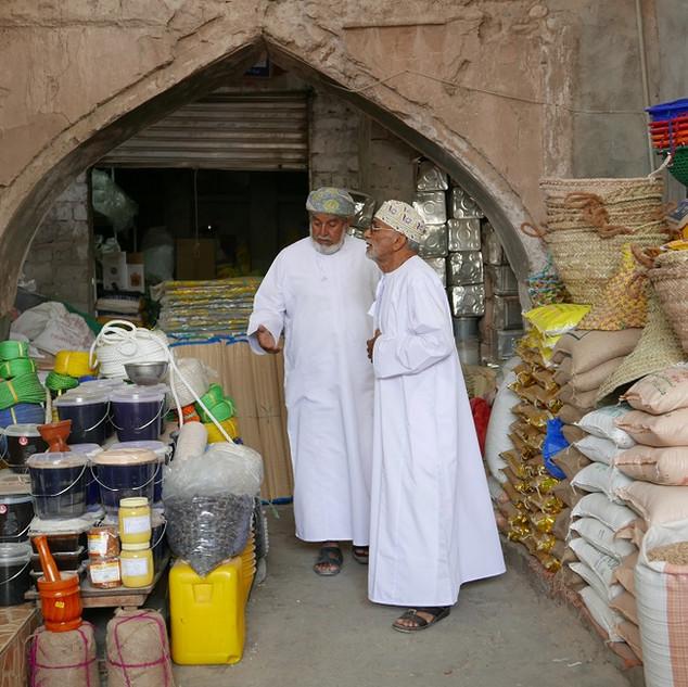 Nizwa souq, rondreis Oman.JPG