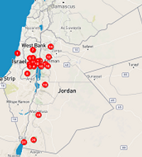 Route Palestina en Jordanië rondreis - Saffraan Reizen