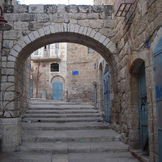 'n Straatje in Beit Sahour, Palestina.JPG