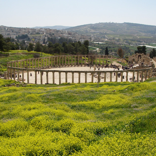 Oval Plaza, Jerash.JPG