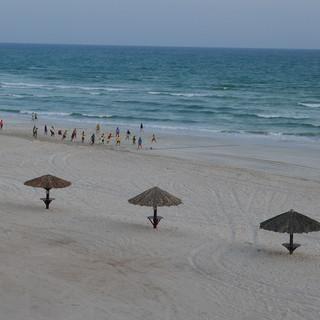 Strand in Salalah, rondreis Oman.JPG