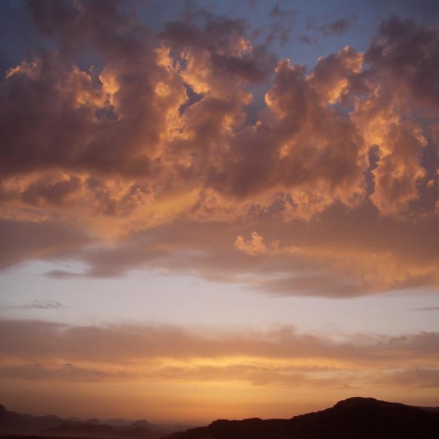 Sunset in Wadi Rum.JPG