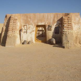 Mos Espa, set van Star Wars bij Ong Jema