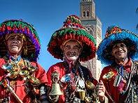 Waterverkopers Marokko - Saffraan Reizen