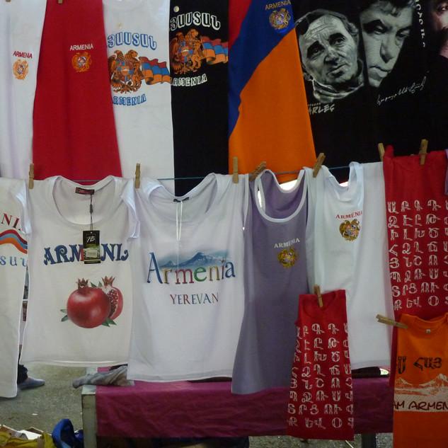Vernissagemarkt Yerevan Saffraan Reizen rondreis Armenie