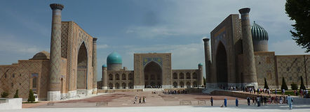 Registan Samarkand, Oezbekistan - Saffraan Reizen