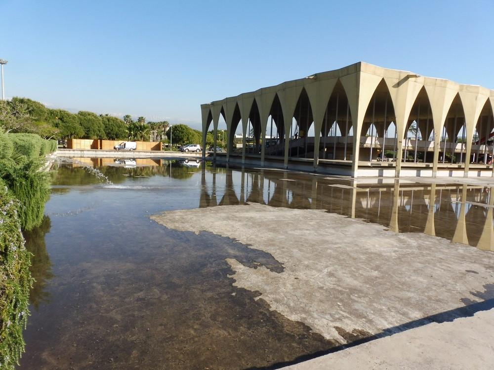 Libanese paviljoen van Oscar Niemeyer in Tripoli - Saffraan Reizen