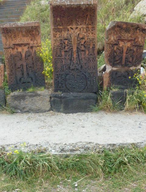 Khachchars stenen grafmonumenten.JPG