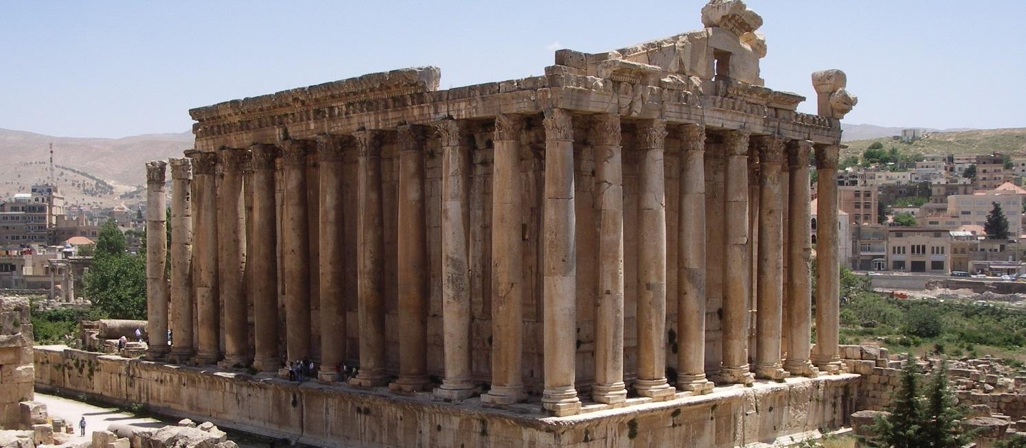 Tempel van Bacchus, Baalbek