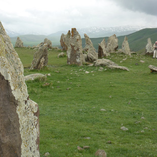 Stonehenge van Armenie Saffraan Reizen