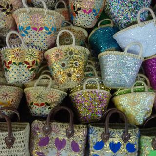 Marrakesh, in de souq.JPG