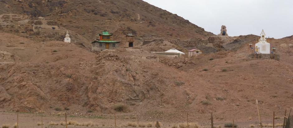 Bij het klooster van Ongiin Khiid