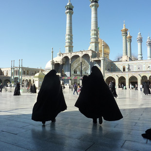 Rondreis Iran Saffraan Reizen Theologisch centrum Qom, Iran.JPG
