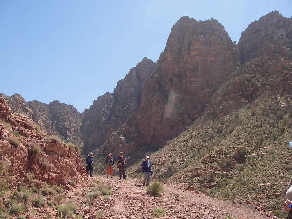 Wadi Dana Trail, Jordanië - Saffraan Reizen