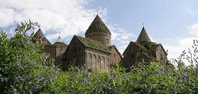 Kerk Goshavank, Armenië - Saffraan Reizen
